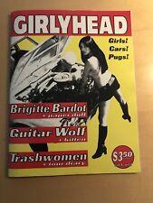 GIRLYHEAD #1 punk fanzine- GUITAR WOLF*TRASHWOMEN*GEARHEAD For Girls MINT