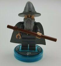 Lego Minifigure DIM001 Gandalf The Grey W/ Stand Pieces Are Glued