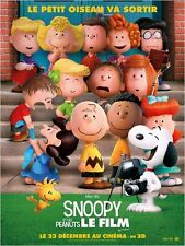 Affiche 120x160cm SNOOPY ET LES PEANUTS - LE FILM /THE PEANUTS MOVIE 2015 TBE