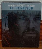 EL RENACIDO STEELBOOK BLU-RAY NUEVO PRECINTADO AVENTURAS DRAMA (SIN ABRIR) R2