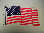 12 USA American Flag CAR PLATE TAG  Great for truck SUV Boat RV 6 x 12 PLASTIC