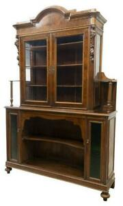 Antique Sideboard, Display, French Mahogany, 19th Century, 1800s, Handsome!!!