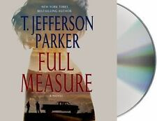 T Jefferson Parker FULL MEASURE Unabridged CD *NEW* FAST Ship! $39.99 Value