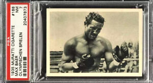 1935 MURATTI MAX BAER *HOF* PSA 7 (TRUE PHOTO) CARD (AMAZING EXAMPLE) **RARE**