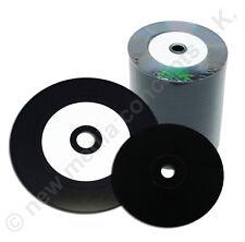 VINILO CD Bruto ESCOTE CARBONO Super Brillante 700MB 100 unid. Grabación óptica