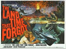The Land That Time Forgot (3) - Doug McClure - A4 Laminated Mini Movie Poster