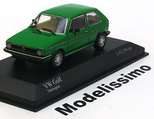 1:43 Minichamps VW Golf 1 1980 green