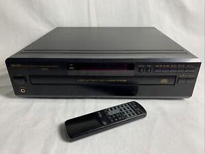 Denon PCM Audio Technology5 Disc CD Auto Changer DCM-370 + Remote Bundle