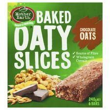 Mother Earth Baked Oaty Slices Chocolate Oats Bars 6 pack 240 gram