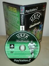 UEFA CHALLENGE ps2 Sony PlayStation gioco game originale prima stampa infogrames