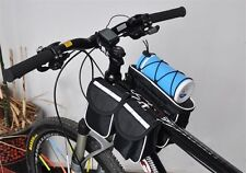 Bycicle Bag Enlarge Waterproof Cycling Front Mountain Bike Mobile Phone Package