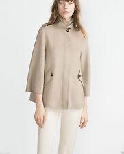 Zara Zip Wool Blend Coats & Jackets for Women