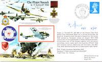 RAFA 7 RAF Battle of Britain cover signed EFFORD DFC