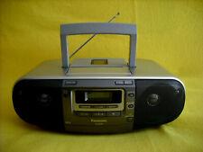 Panasonic RX-D50 CD Radio Cassetten Recorder Kassetten Rekorder CD MP3