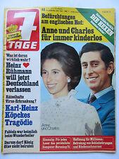 7 Tage Nr 48 /1974,  Heinz Rühmann, Heidi Kabel, Camillo Felgen, James Last