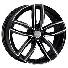 "CERCHI IN LEGA MAK SARTHE W BLACK MIRROR 17"" 7,5J 5X100 VW POLO V"