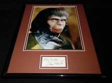 Kim Hunter Signed Framed 11x14 Photo Display Planet of the Apes C
