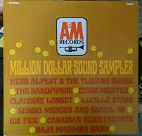 Various Million Dollar Sound Sampler vinyl LP Stereo A&M 9001