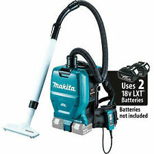 Makita XCV05Z 18V X2 36V Brushless Cordless 1/2 Gal HEPA Filter Backpack Dry