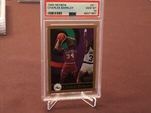 1990 Skybox #211 Charles Barkley 💎 PSA 10 Gem Mint 💎 Only 24 Exist Gorgeous !