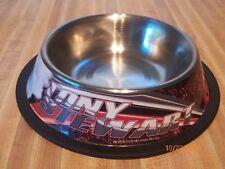 Tony Stewart Stewart Haas Racing #14 pet bowl water food large Old Spice NASCAR