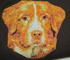 Embroidered Long-Sleeved T-Shirt - Nova Scotia Duck Tolling Retriever Dle2495