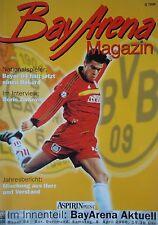 Programm 1999/00 Bayer 04 Leverkusen - Borussia Dortmund