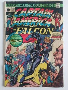Captain America and The Falcon #180 December 1974 Steve Rogers Origin The Nomad