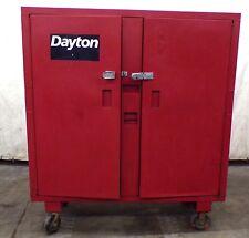 "DAYTON, TOOL CABINET, 6A579C, 60"" X 24"" X 56"""