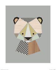 Little Design Haus - Bear ART PRINT 40x50cm NEW home decoration poster