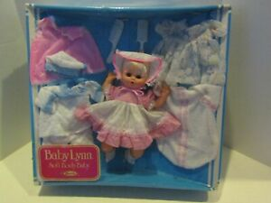 VINTAGE DOLL UNEEDA BABY LYNN IN BOX CLOTHING OUTFITS ACCESSORIES