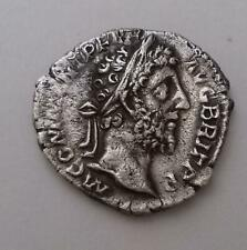 Commodus AR Denarius Coin Fides Standing AD177 - 192 3.0g