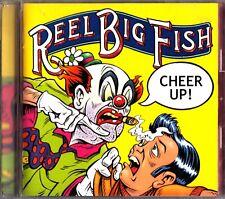 Reel Big Fish – Cheer Up! RARE JAPAN CD (2002) +2 BONUS TRACKS Ska Punk Pop
