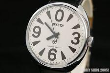 Rocket ZERO vintage OLD stock Russian USSR wrist watch PAKETA BIG digits 2609
