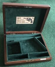 CASE FOR A COLT NEW ARMY-NAVY DA REVOLVER PISTOL GUN (5.0).