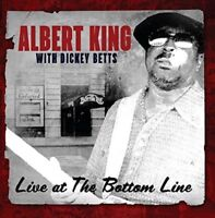 ALBERT WITH BETTS,DICKEY KING - LIVE AT THE BOTTOM LINE   CD NEW+