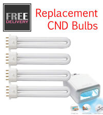 REPLACEMENT BULBS - CND UV LAMP - UK SELLER FAST FREE P&P - 4 BULBS - 100's Sold