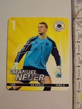 REWE Sammelkarten - Manuel Neuer - EM 2012 - Fußball Fussball - Nr. 1