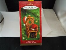 Hallmark Ornament 2000 Santa'S Chair Nib