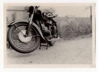 altes SW Foto MZ BK Oldtimer Motorrad Bild original vintage