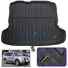 Rear Trunk Liner Boot Mat Cargo Tray Floor Carpet For Mitsubishi Pajero 2007-18