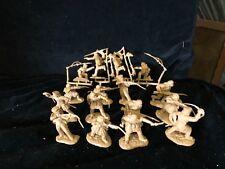 CONTE ALAMO CROCKETT DEFENDERS SET #2 brown Frontiersmen CIVIL WAR 1/32 16FIGS