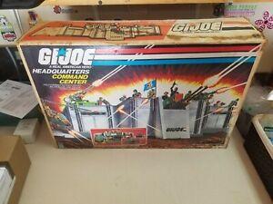 Vintage GI Joe ARAH 1983 Headquarters Command Center Part * ORIGINAL BOX ONLY *