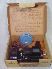 Kalart 8mm Film Movie Editor Viewer Eight Custom Splicer Model EV-8 DS with Box