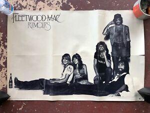 """Fleetwood Mac Rumours Poster - 1977 Warner Bros. - 36x24"""""""