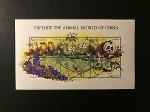 SIERRA LEONE 1998 REPTILES , FISH, BIRD , ANIMALS , Sc 2104 , MNH