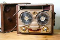 Revere T-100 Reel to Reel Recorder vintage tape recorder audiophile Works