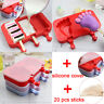 Lolly Maker DIY Ice Cream Popsicle Mould Frozen Pan Ice Pop Mold Silicone Tray
