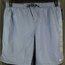 NIKE Men's Athletic Volley Shorts. XXL Grey NEW