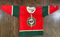 CCM NHL Wild Minnesota Toddler Hockey Jersey One Size Red Green